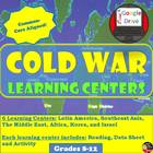 Cold War Learning Centers -student centered activity (Worl