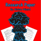 Cold War Research Paper