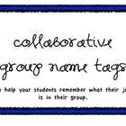 Collaborative Group Name Tags