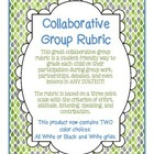 Collaborative Group Rubric for Participation and Collaboration