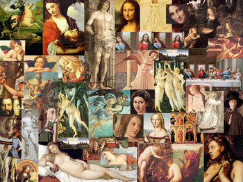 Collages Assemblages, 10, Renaissance Art