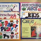 Collection of Art Activity & Lesson Books for PreK-6