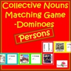 Collective Nouns Matching Game - Persons