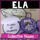 Collective Nouns Power Point and Interactive Craftivity