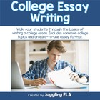 College Essay Writing