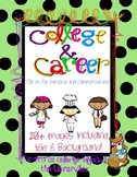 College and Career Clip Art