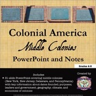 Colonial America: The Middle Colonies PowerPoint
