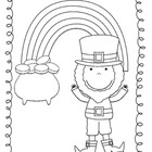 Color A Leprechaun St. Patrick's Day Rhyme