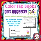 Color Book - 10 Flip Books - Center/ Sight Words