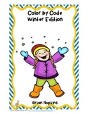 Color By Code Common Core Winter Edition