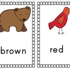 Color Cards for Classroom Decor