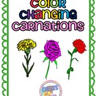 Color Changing Carnations