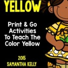 Color Crazy  - The Color Yellow
