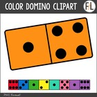 Color Dominoes {Clipart Collection}