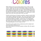 Color Flashcards Extended Version!