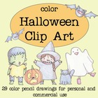 Color Halloween Clip Art