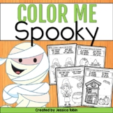 Halloween Coloring Sheets- Color Me Spooky
