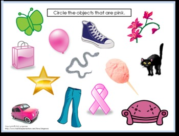 Color My World Activity Packet - PINK