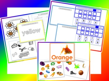 Color My World- Basic Colors Bundle