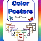 Color Posters (Food Theme)