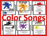 Color Songs and Bulletin Board