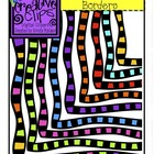 Color Striped Borders MEGA Pack {Creative Clips Digital Clipart}