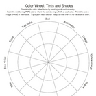 Color Wheel with Tints and Shades