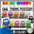 Color Word OWLS