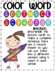 Color Word Sentence Scramble