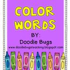 Color Word Unit: Acitvities &amp; Centers for the 10 Basic Col
