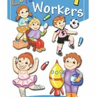 Color Workers 1 Coloring Book