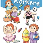 Color Workers Coloring Book [paperback]