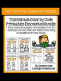 Color Your Answers Bundle for Third Grade for Rounding, Ad