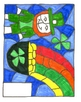 Color by Number Division- St. Patrick's Day Leprechaun