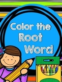 Color the Root Word {Base Word}