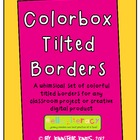 Colorbox Tilted Borders