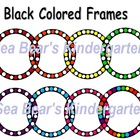 Colored Circle Frame Clip Art