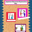 Colored Japanese Classroom Expression Pics for Walls