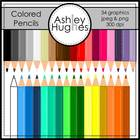 Colored Pencils {Graphics for Commercial Use}