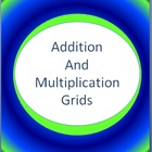 Colorful Addition and Multiplication Grids