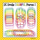 Colorful Doodle Frames 1