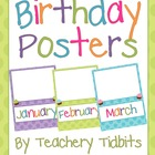 Colorful Dots Birthday Posters