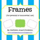 Colorful Frames (for Personal and Commercial Use)