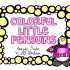 Colorful Little Penguins emergent reader