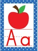 Colorful Polka Dot Classroom Alphabet