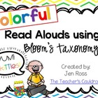 Colorful Read Alouds using Bloom's Taxonomy