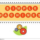 Colorful Simple Machines PowerPoint