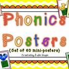 Colorful and Fun Posters of Phonics Sound