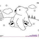 Coloring Activity: Oso polar / Polar bear