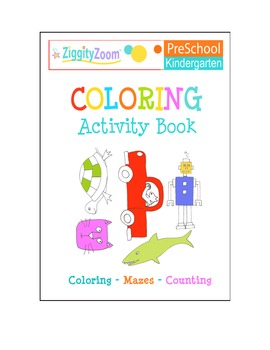 Coloring Activity Workbook